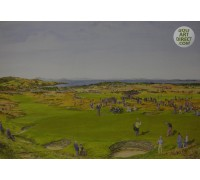 Muirfield - 1959 Open Championship Commemorative Print signed by Gary Player