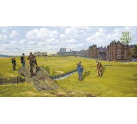 St Andrews - Old Tom Morris - Premier Canvas Limited Edition
