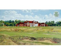 Royal Liverpool Golf Club - 16th Green & Clubhouse - VENUE OF THE 2014 OPEN CHAMPIONSHIP