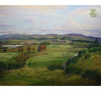 Gleneagles - PGA Centenary Course 8th hole - Signed Limited Edition – VENUE OF 2014 RYDER CUP