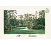 "Augusta National Golf Club - 10th hole - ""Camellia"" - Limited Edition Print"