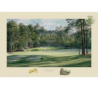 "Augusta National Golf Club - 12th hole - ""Golden Bell"" - Limited Edition Print"