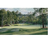 "Augusta - 12th hole  ""Golden Bell"" - Premier Canvas Limited Edition - SPECIAL OFFER 36% OFF"