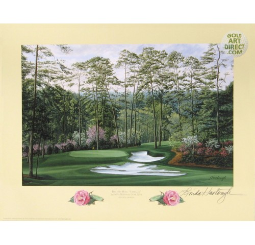 "Augusta National Golf Club - 10th hole  ""Camellia"""