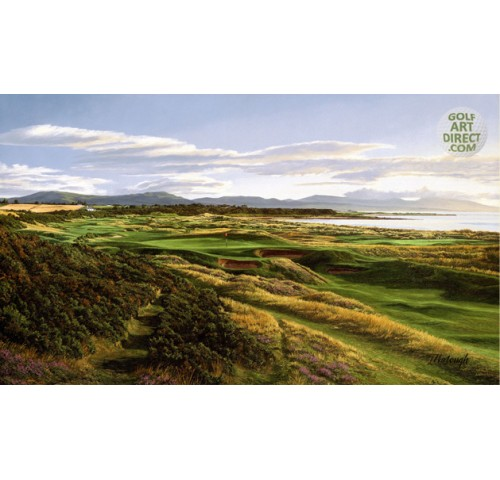 Royal Dornoch - 17th hole - Premier Canvas Limited Edition - SPECIAL OFFER 36% OFF