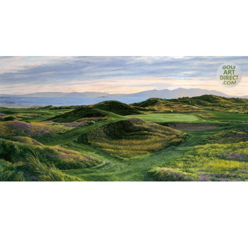 "Royal Troon - ""Postage Stamp"" - Premier Canvas Limited Edition - SPECIAL OFFER 36% OFF"