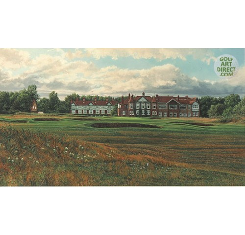 Royal Lytham & St Annes Golf Club - 1996 Open Championship Official Artist Series - Limited Edition Print - SPECIAL OFFER 36% OFF