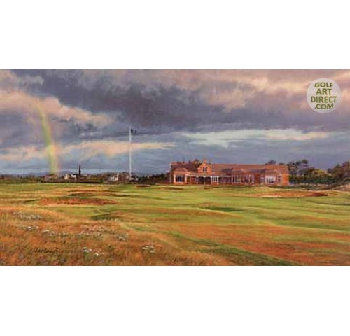 Royal Troon Golf Club - 1997 Open Championship Official Artist Series - Limited Edition Print - SPECIAL OFFER 36% OFF