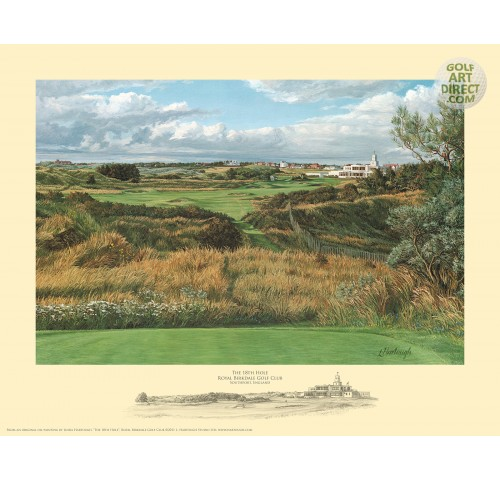 Royal Birkdale - 18th hole & Clubhouse