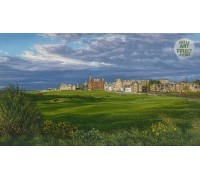 St Andrews - 'The Road Hole'  - NEW RELEASE - Signed Limited Edition Print by LInda Hartough