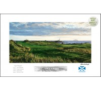 "Turnberry - 12th Hole  ""Monument"" - Signed Open Edition - SPECIAL OFFER 25% OFF"