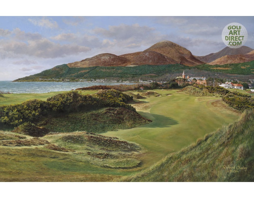 Royal county down 9th hole for Royal county down