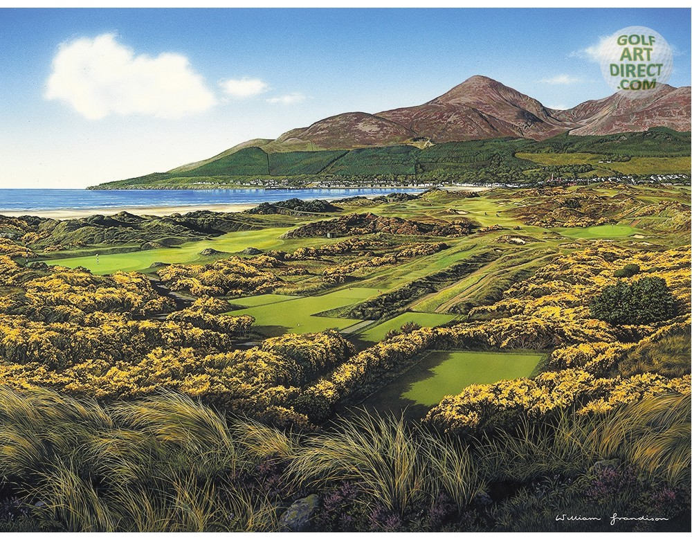Royal county down 4th hole for Royal county down