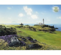 Turnberry - Ailsa Craig & Lighthouse - SPECIAL OFFER - MOUNTED FREE OF CHARGE